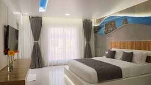 1 bedroom, minibar, laptop workspace, rollaway beds
