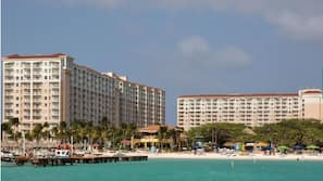 Liegestühle, Strandtücher