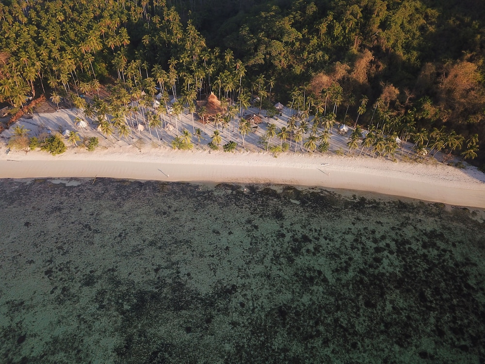 Aerial View, Dryft Darocotan Island - Campsite, Adults Only