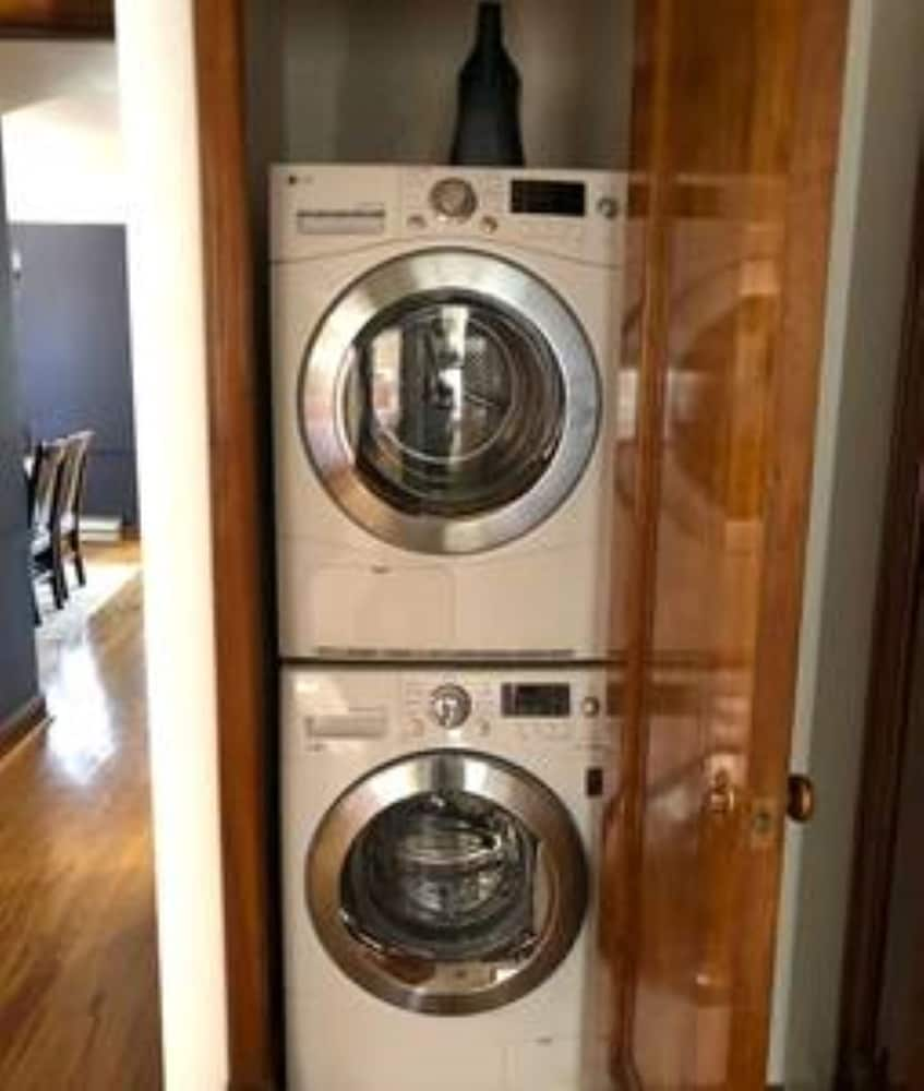 Laundry Room, Delmar 1st Floor · Luxury Unit 1st Floor: Walk to Downtown Clayton