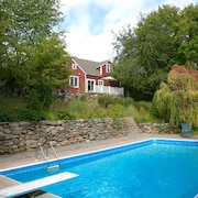 Beautiful 1795 Renovated Cape Cod W/ Pool On Private Wooded Property
