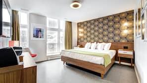 Hypo-allergenic bedding, memory foam beds, minibar, in-room safe
