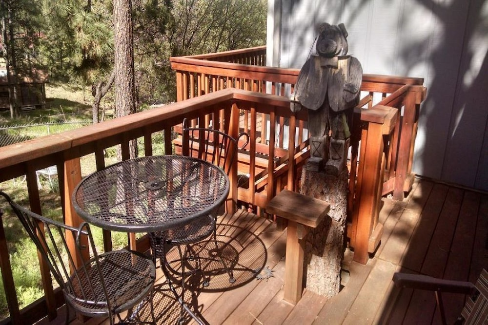 Balcony, Ruidoso, NM Cozy Cabin