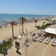 Apartment With 2 Bedrooms in Guardamar del Segura, With Wonderful sea View, Furnished Terrace and Wifi - 100 m From the Beach
