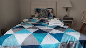 Hypo-allergenic bedding, down comforters, blackout drapes