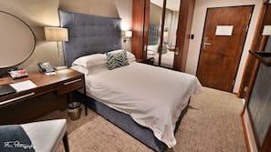 In-room safe, desk, blackout curtains, soundproofing