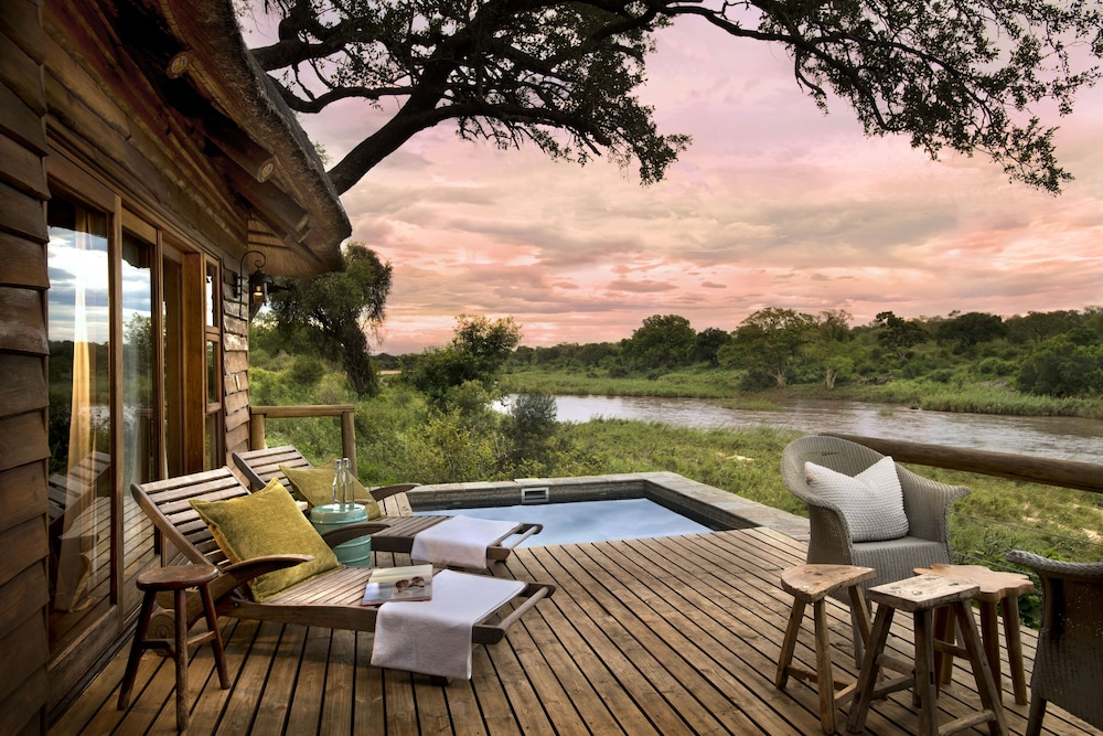 Private Pool, Lion Sands Narina Lodge