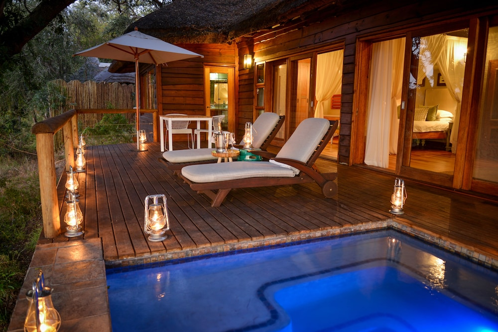 Outdoor Pool, Lion Sands Narina Lodge
