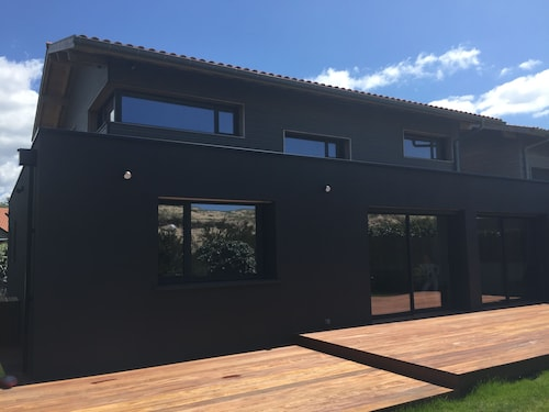 Hossegor Villa 180m2 Facing the Dune, 50m From the Beach of Gravel