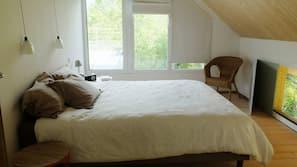 3 sovrum och strykjärn/strykbräda