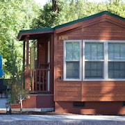 Like new one Bedroom, one Bath Cabin Overlooking Christopher Creek