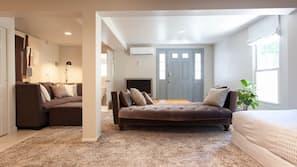 5 soverom, strykejern/-brett, internettilgang og sengetøy