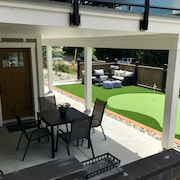 Modern Brand New 2 BR Suite w King Bed & Golf Green Near Ocean - 15 min Drive