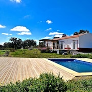 Villa With 2 Bedrooms in Zambujeiras, With Wonderful Mountain View, Private Pool, Furnished Garden - 20 km From the Beach