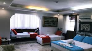 1 bedroom, free minibar items, in-room safe, desk