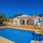 Albertina - private pool villa, free Wifi, in Benissa