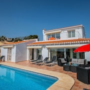 Michelle - sea view villa with private pool in Benissa