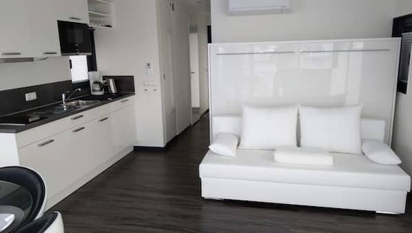 1 Schlafzimmer, schallisolierte Zimmer, Internetzugang, Bettwäsche