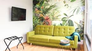 1 Schlafzimmer, individuell dekoriert, schallisolierte Zimmer