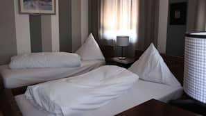 Allergikerbettwaren, Verdunkelungsvorhänge, schallisolierte Zimmer
