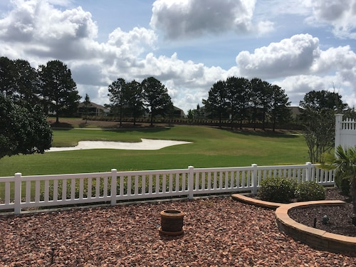 Spectacular View 2/2 Villa on a Golf Course W/spa, Golf Cart, Bbq, & Wifi!