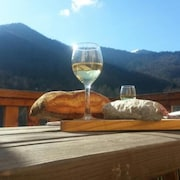 Chalet With 2 Bedrooms in Boutx, With Wonderful Mountain View, Furnished Terrace and Wifi