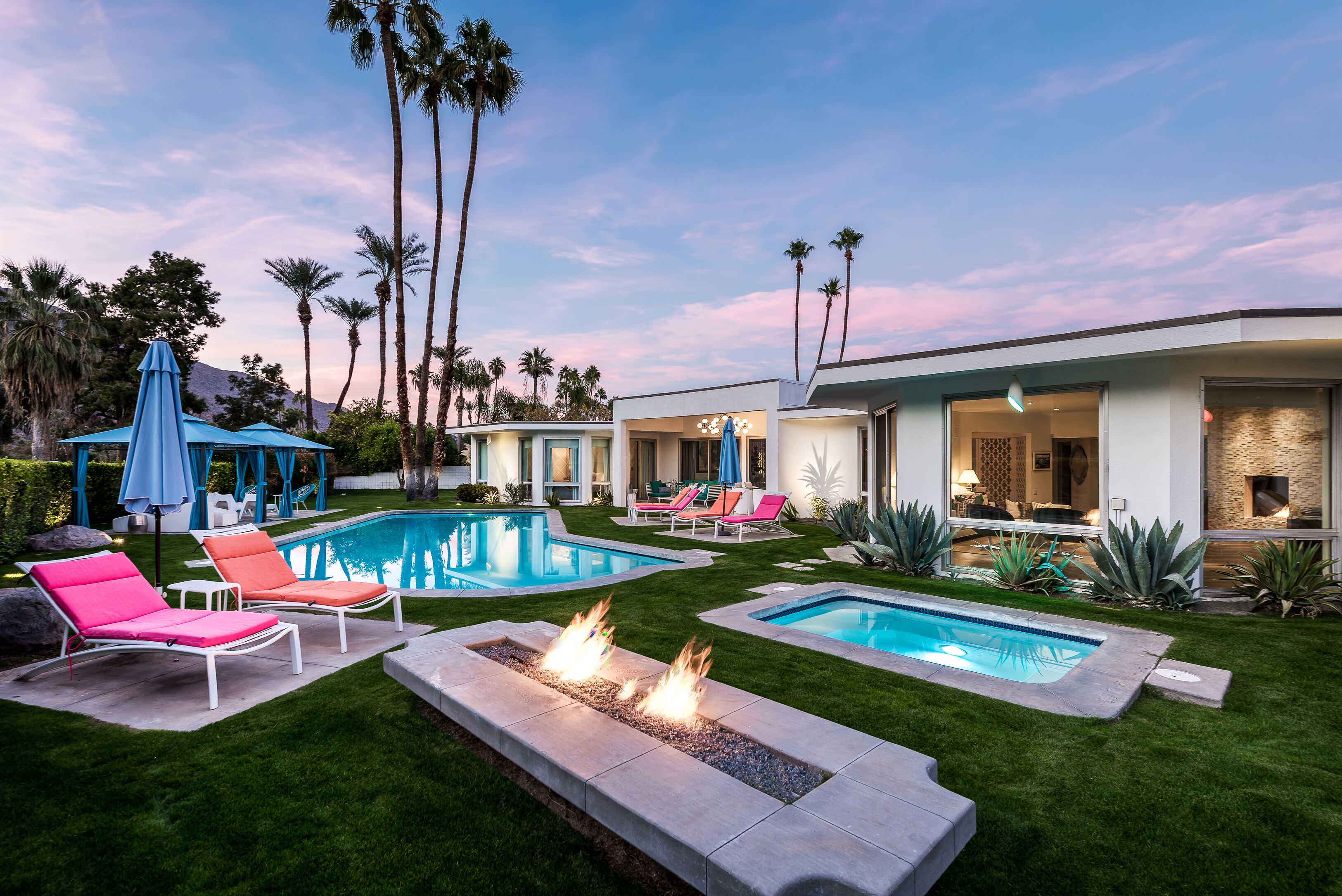 Golf Course Estate All En Suite All King Beds Pool Side Cabanas And Fire Pit Palm Springs Hotelbewertungen 2020 Expedia De