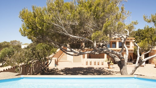 Villa Cala en Baster With sea View and Swimming Pool set in the Pine Forest