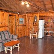 West Michigan's Beautiful White Lake Glaser's Glenn Log Cabin #5 for Summer Fun