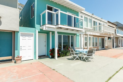 New Listing! Beach-front Home On The