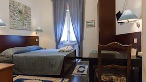 Una cassaforte in camera, culle/letti per bambini (gratuiti), lenzuola