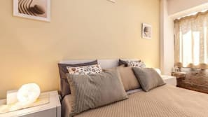 Premium bedding, Select Comfort beds, blackout curtains, soundproofing