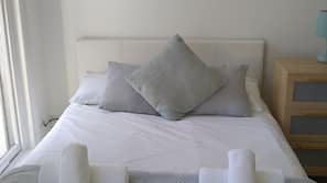 Iron/ironing board, cribs/infant beds, free WiFi, linens