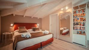 1 bedroom, Frette Italian sheets, premium bedding, memory foam beds
