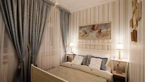 Allergikerbettwaren, Minibar, Zimmersafe, individuell dekoriert