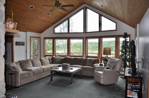 Living Room, Lost Branch on the Lake
