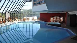 Piscina interna, piscina aquecida