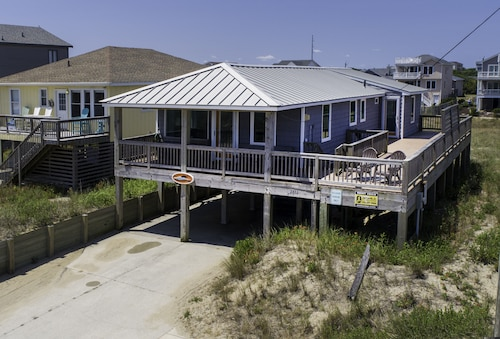 Semi Oceanfront! Relax on Your Front Deck Watching Sunrises Over the Ocean!