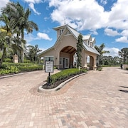 Beautiful New Construction Naples Home Close to Beach Located in Gated Community