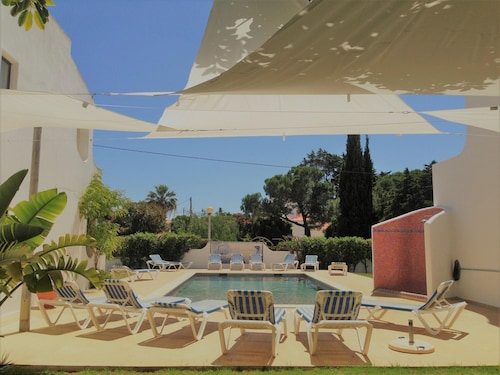 Apartment With 2 Bedrooms in Carvoeiro, With Pool Access, Enclosed Garden and Wifi - 500 m From the Beach