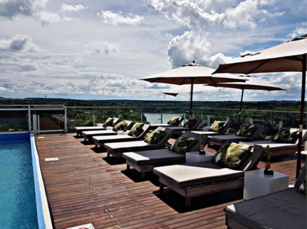 Terrace/Patio, O2 Hotel Iguazú