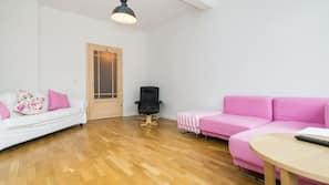 1 Schlafzimmer, Verdunkelungsvorhänge, Bügeleisen/Bügelbrett