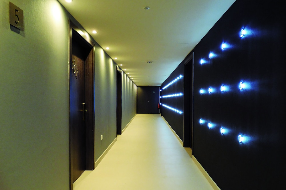 Hallway, Bilbao City Center by abba Suites