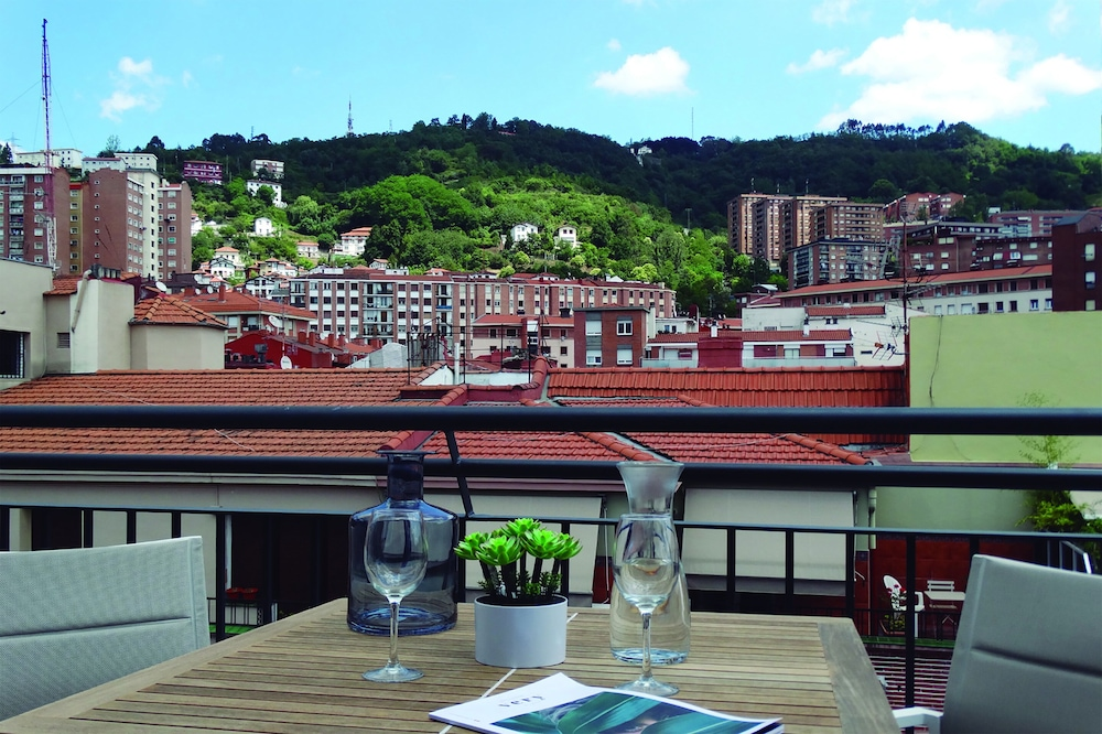 Terrace/Patio, Bilbao City Center by abba Suites
