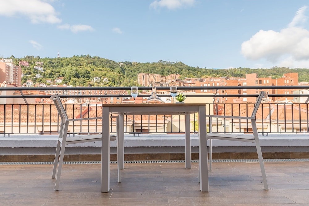 Balcony, Bilbao City Center by abba Suites