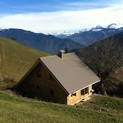 Chalet With 4 Bedrooms in Les Avanchers-valmorel, With Wonderful Mountain View and Furnished Garden - 7 km From the Slopes