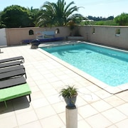 House With 3 Bedrooms in Saint-laurent-de-la-salanque, With Pool Access and Furnished Garden - 3 km From the Beach