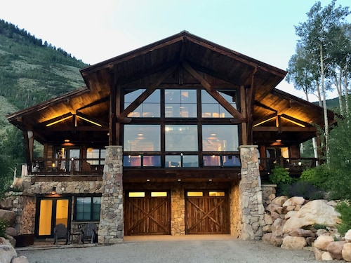 Iconic Mountain Chalet on 50 Private Acres- Views!