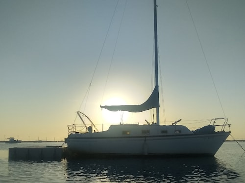 See the Sunrise From Your Sailboat!