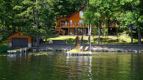 Lakefront Home With Beautiful Views and Endless Recreation!